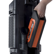 Hoover Cordless Upright Vacuum - Quick Change Battery